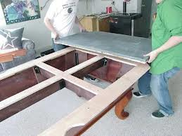 Pool table moves in College Station Texas