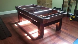Correctly performing pool table installations, College Station Texas