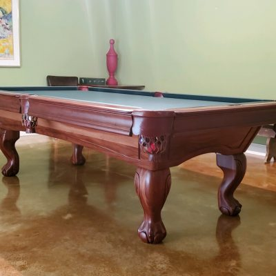 Presidential Billiards - 8' Hampton Teak